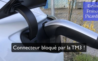 Connecteur bloqué par la TM3