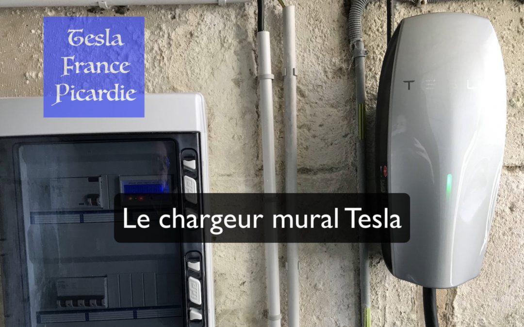 Le chargeur mural Tesla