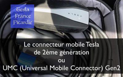 Le connecteur mobile Tesla de 2ème génération