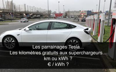 Les parrainages Tesla…